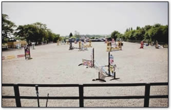 Bartlow equestrian arena